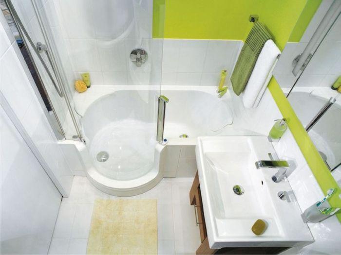 Узкая и длинная ванная – огромные возможности для дизайна