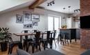 Интересная и удобная квартира под крышей в Любляне
