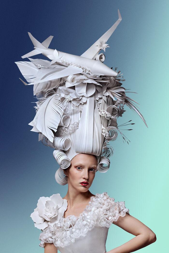 Бумажные скульптуры Аси Козиной