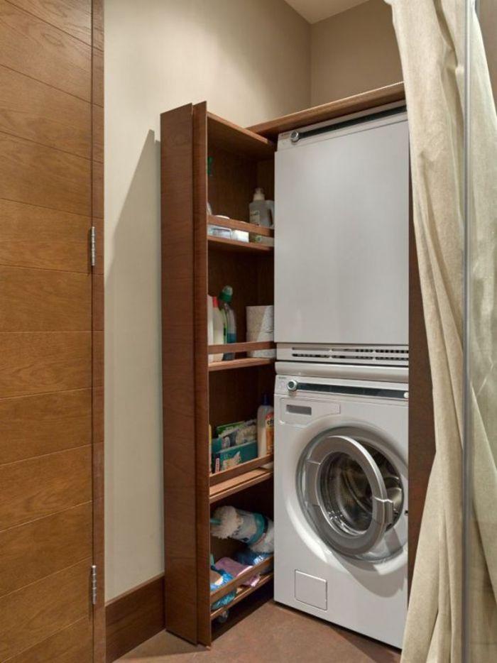 Место стиральной машины в ванной