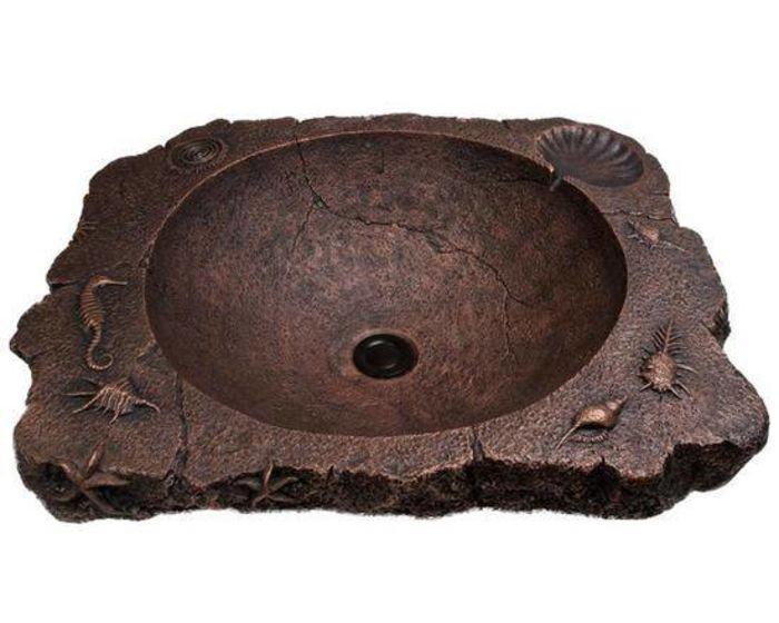 Раковина из бронзы
