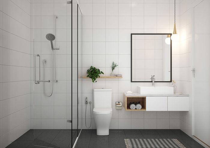 Минималистская ванная