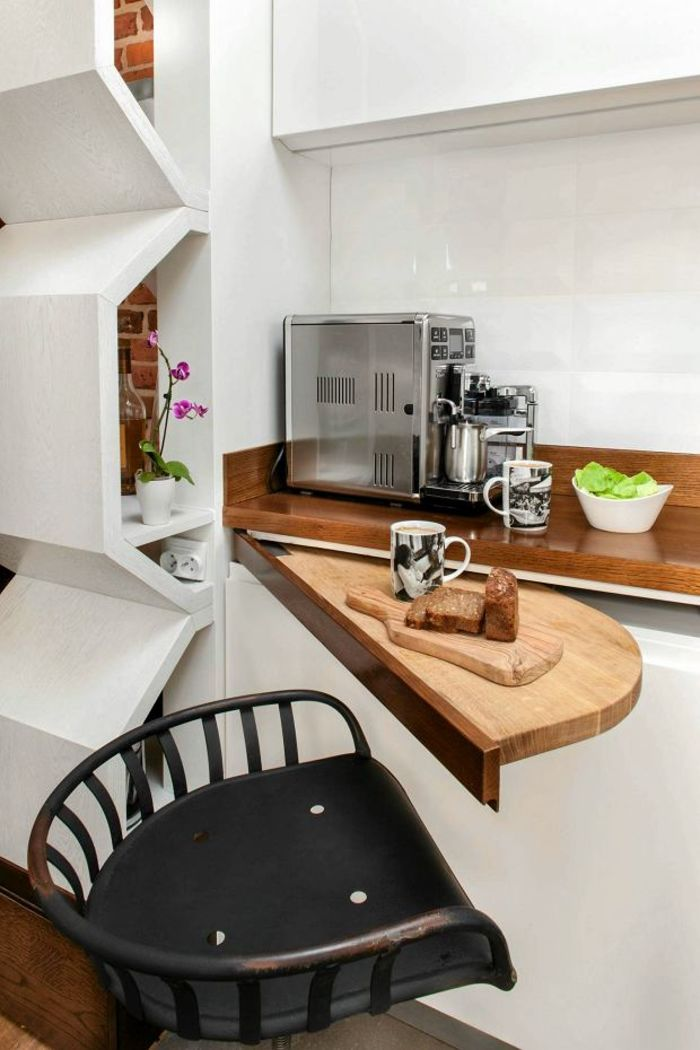 Остров-стол на кухне