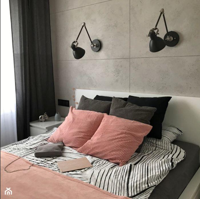 Оформление стены за кроватью