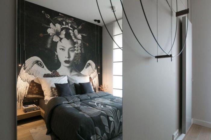 Квартира в японско-европейском стиле. Фото: Якуб Дзедзич