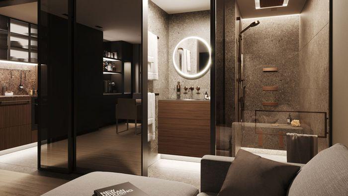 Домашний спа в однокомнатной квартире
