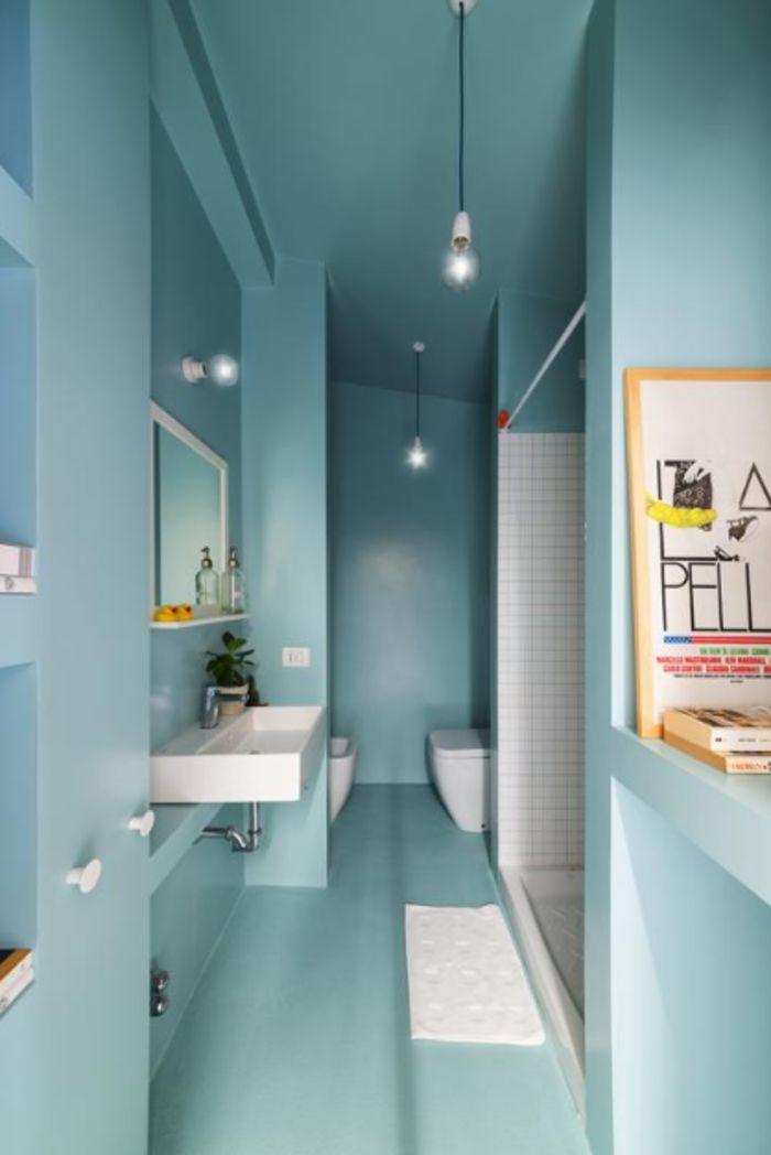 Цвет в ванной. Фото: Федерико Виллы