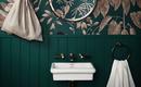 Маленькая ванная – как цвет делает ее больше