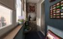 Как обустроить маленький балкон в стиле лофт