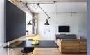 Квартира с модульной мобильной мебелью для молодой семьи