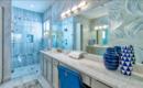 10 красивых идей для ванной с душевой кабиной