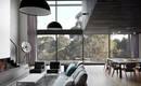 Дом архитектора на берегу реки в кипарисовом стиле