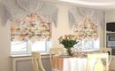 15 великолепных вариантов оконных штор для кухни и ванной