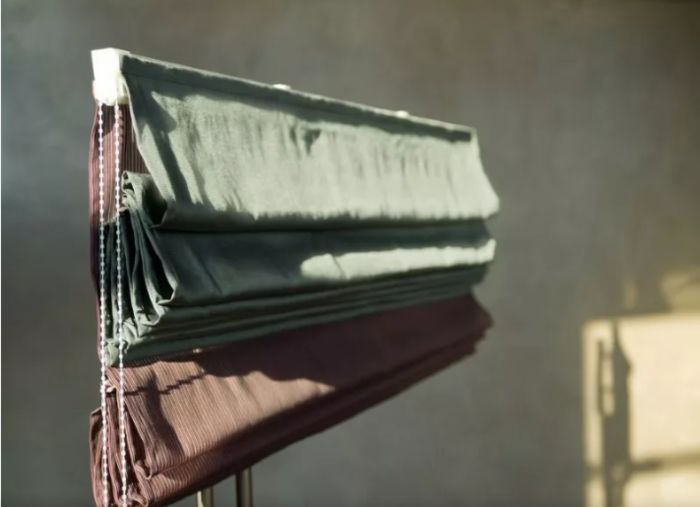 Римская штора двойная