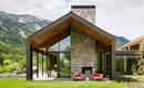 Красивый функциональный дом в горах