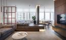 Компактная квартира со спальней на платформе от украинской студии SVOYA