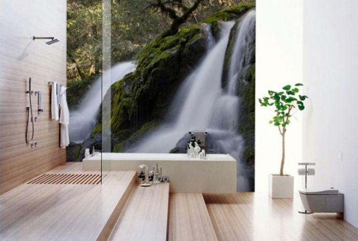 Ванные комнаты на природе