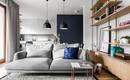 Маленькая квартира с удобной и легкой скандинавской атмосферой