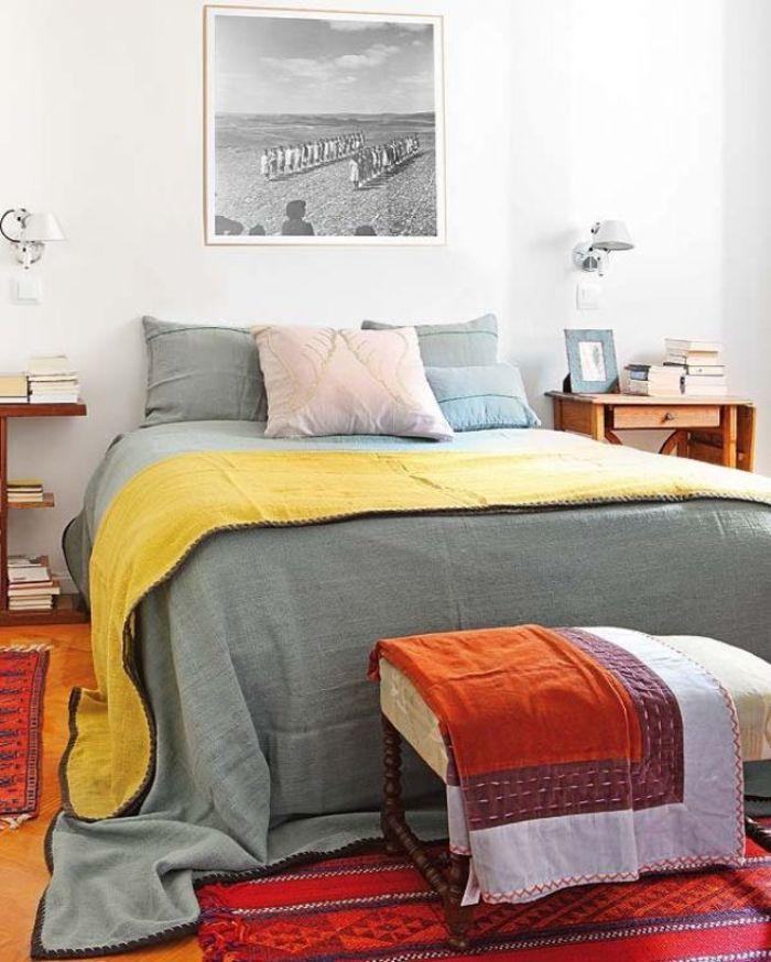 Спальня с атмосферой радости и покоя