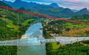 Самый длинный в мире мост со стеклянным дном в Китае