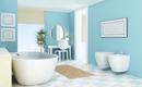 8 идеальных цветов для маленьких ванных комнат