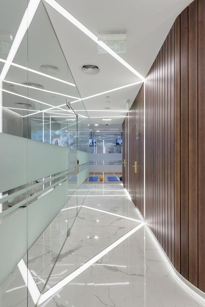 Mane Design •проект Aurum Fitness Clinic