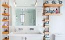 Хранение в ванной: 10 конструктивный идей