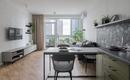 Комфортная квартира для сдачи в аренду от украинского дизайнера Татьяны Денисенко