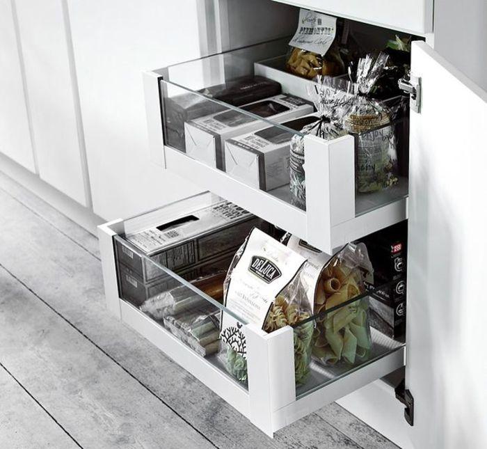 Хранение на маленькой кухне