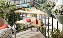 Как увеличить пространство на маленьком балконе – 20 вариантов обустройства