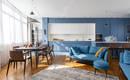 Потрясающие цвета в днепровской квартире от украинской студии Decorkuznetsov