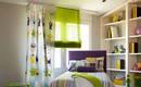 Римские шторы – идеальное решение для детской комнаты