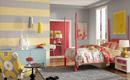 Два цвета стен в спальне - модный тренд
