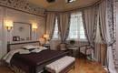 Шторы для спальни – цвет, гармонирующий с дизайном комнаты
