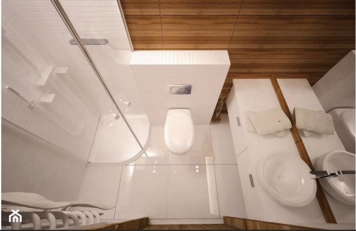 Обустройство маленького туалета