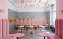 Как в кино – розово-голубая пекарня в Киеве от украинских дизайнеров Бруминой и Тригубчак