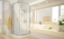 Какая душевая кабина для маленькой ванной?