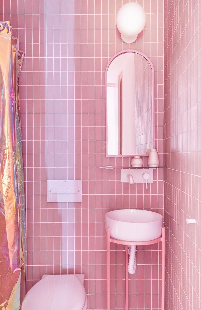 Розовая квартира в Мадриде