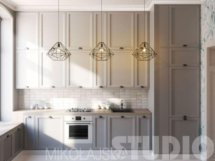 Классические детали на кухне
