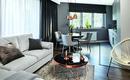 Дизайнерская квартира с медными аксессуарами