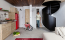 Динамичная и стильная малогабаритная квартира площадью 36 кв.