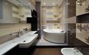 Стильная ванная комната с асимметричной ванной – 10 вариантов