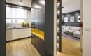 Польская квартира – кухня в гостиной. Идея общего пространства