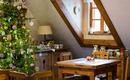 Рождественский домик. Народные елочные игрушки