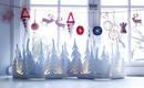 10 ярких способов украсить окна и подоконник на Рождество