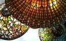 Витражные лампы Тиффани - освещение, производящее фурор