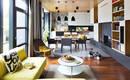 Современная квартира с модным желтым акцентом в Ужгороде
