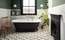 10 дизайнерских ванных комнат с отдельно стоящими ваннами