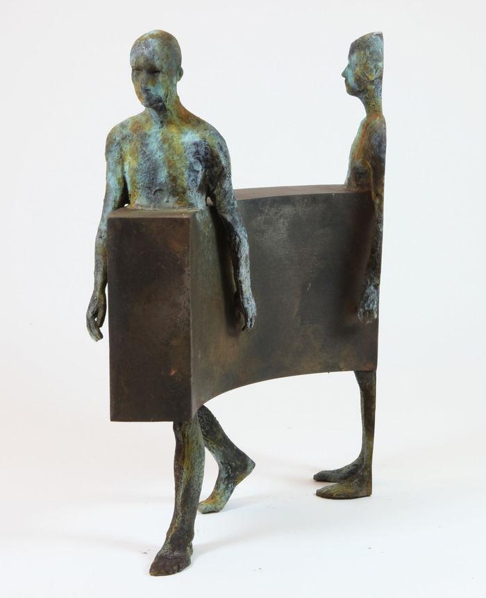 Бронзовые скульптуры испанского художника Хесуса Куриа