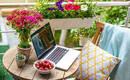 Домашний кабинет на балконе - как создать комфортное рабочее пространство